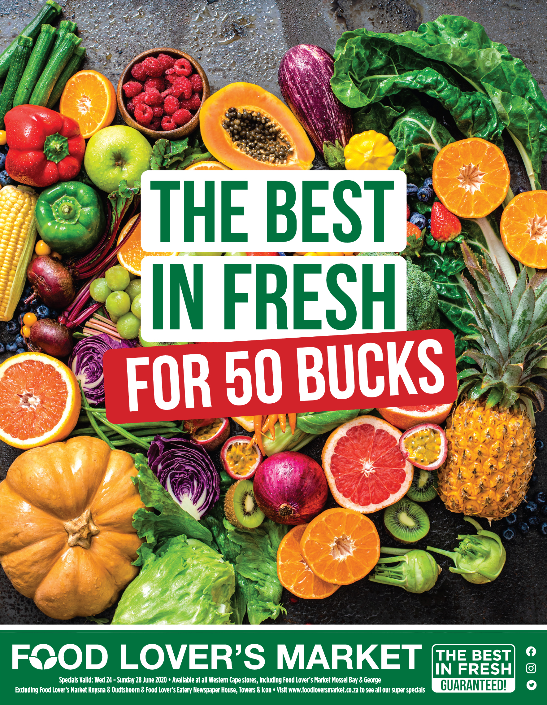 Food Lover's Market: 50 Buck Deals