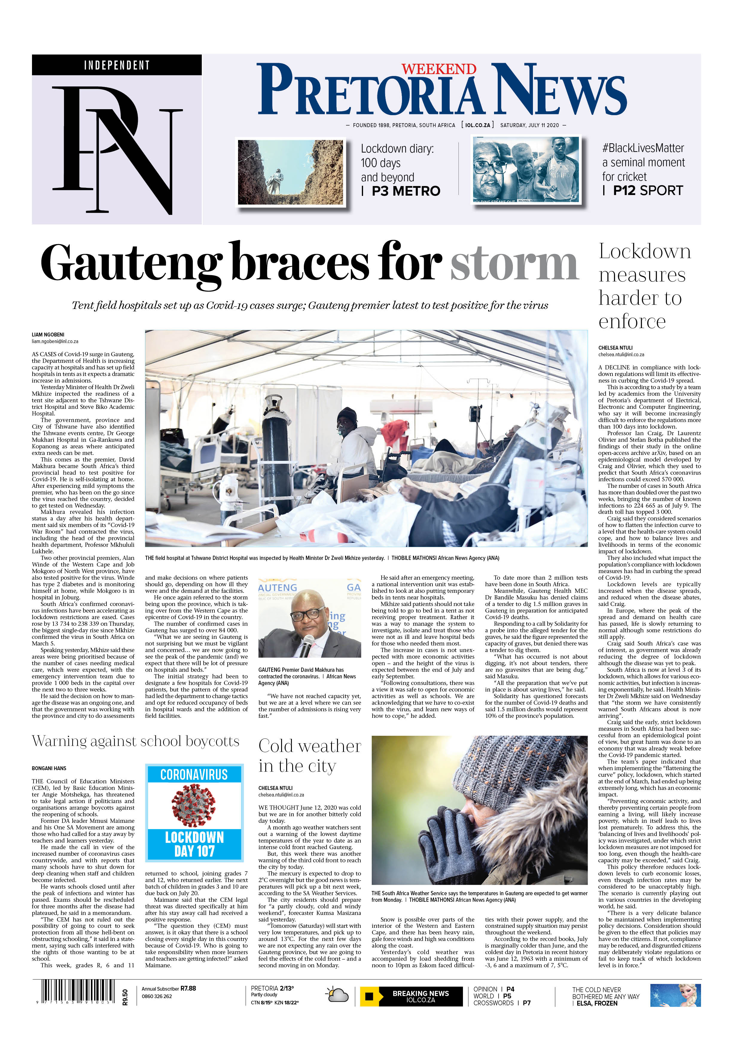 Pretoria News Weekend July 11 2020